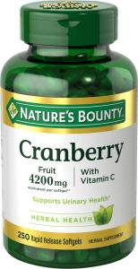 Nature's Bounty Cranberry Capsules